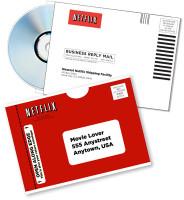 Netflix mailers
