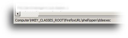 HKCR Firefox URL