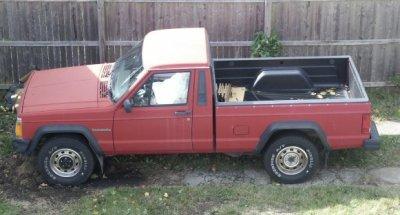 My faithful 1987 Jeep Comanche Pickup