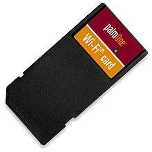 Palm wireless SD card