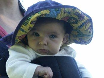 Seryn at 11 weeks