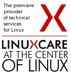 Linuxcare, the 1-800 number for Linux