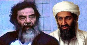 Saddam and Osama