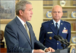 George W. Bush is breaking the law, and should be sent to prison