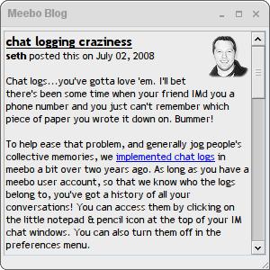Meebo spam popups