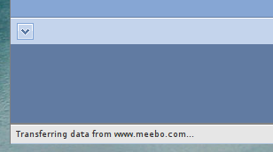 Confusing Meebo slidey buttons