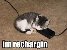 lolcat recharging