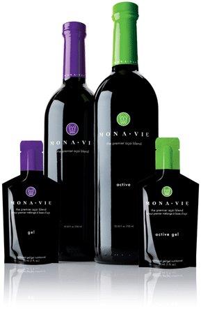 Bottles of Monavie