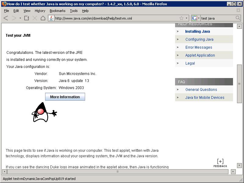 Firefox Java 64