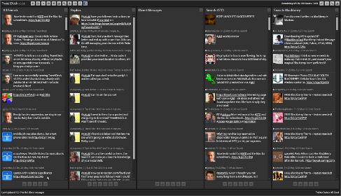 TweetDeck running natively on 64-bit Linux