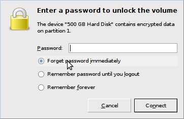 Debian/Ubuntu eCryptfs password dialog