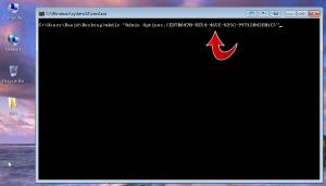 Windows 7 commandline mkdir god mode