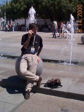 me at Linuxworld SF