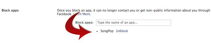 Facebook BlockApps SongPop