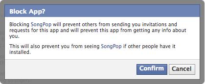Facebook block SongPop confirm