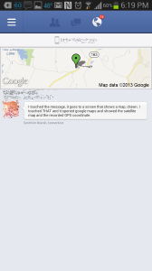 Facebook Mobile Messaging Privacy GPS Maps