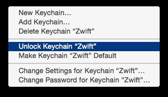 Unlocking the Zwift keychain