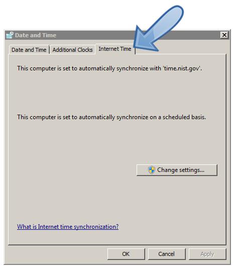 Windows-Internet-time-settings
