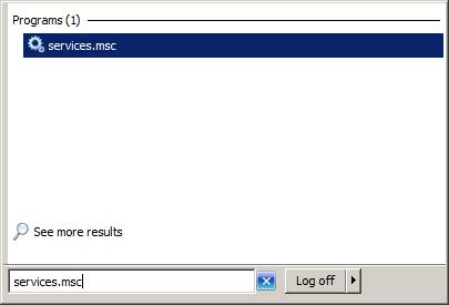 Windows Services Management