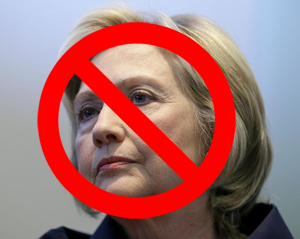 No more Hillary Clinton - no more fraud